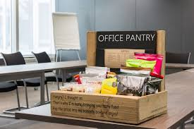 office pantry. Snack Box For The Office Pantry