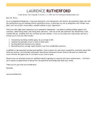 Car Salesman Cover Letter - Letter Of Recommendation