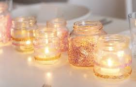 Decorating Candle Jars epsom salt CleverCorner 31