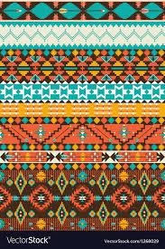 Navajo Pattern Inspiration Seamless Navajo Geometric Pattern Royalty Free Vector Image