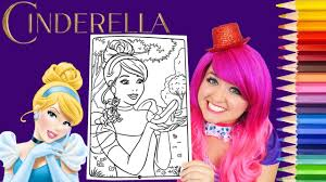 Now you'll find many of them on this set of beautiful coloring books for children. Coloring Cinderella Disney Princess Coloring Book Page Prismacolor Colored Pencil Kimmi The Clown Youtube