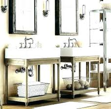 Vanity Restoration Hardware Sink Double Bathroom Full Size Of Maison Resto H82
