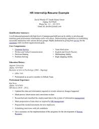 Good Objective For Internship Resume Internships Resume Internship On Resume Resume For Study Objective 14