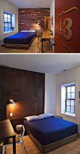 Maximizing Space In A Small Bedroom 8 Small Hotel Rooms That Maximize Their Tiny Space Contemporist