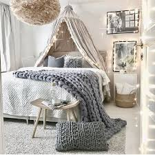 Teen bedroom with canopy