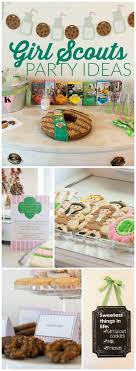 best images about girl scout cookies banner you have to see this cookies and milk themed girl scouts party see more party