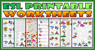 ESL Printable Grammar and Vocabulary Worksheets For Kids