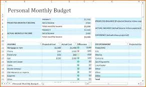 Excel Monthly Budget Spreadsheet Household Budget Spreadsheet Excel Home Budget Spreadsheet Excel
