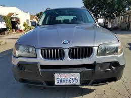 Sold 2005 BMW X3 2.5i in Long Beach