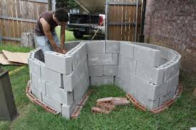 Cinder Block Outdoor Kitchen Home Design Cinder Block Retaining Wall Planter Cabin Shed