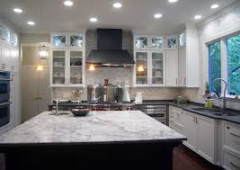 you can play around with the contrast with this granite look at the dark stained