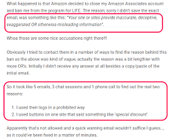 Amazon Affiliate Commission Chart 2018 9 Reasons Why Amazon Affiliate Sites Are The Worst Choice