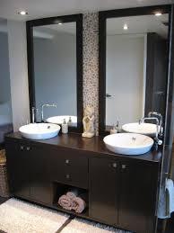 framed bathroom vanity mirrors wayfair lighting pendants double mirrior over with glass dark framed bathroom bathroom sink