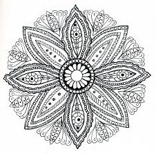 Small Picture Hippie coloring pages mandala ColoringStar