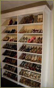 53 shoe shelf ideas best 25 shoe shelves ideas closet closet shoe rack ideas