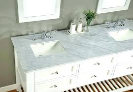 carrera marble bathroom vanity decoration legion inch contemporary white regarding top decorating carrara countertops per square