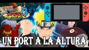 NARUTO SHIPPUDEN ULTIMATE NINJA STORM 3 ES TODA UNA DELICIA EN NINTENDO  SWITCH - YouTube | Naruto shippuden, Nintendo, Naruto