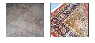 rug cleaning before and after smoke and fire damage