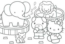 Free Printable Colouring Pages Zoo Animals Zoo Coloring Pages Zoo