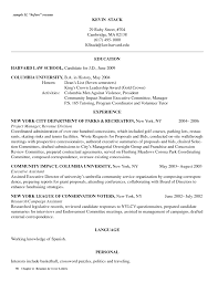 Harvard Law Resume Action Verbs Cover Letter Application Resumes