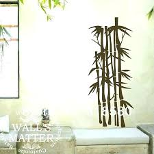 bamboo wall art metal diy