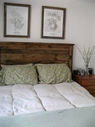 image of barnwood headboard designs