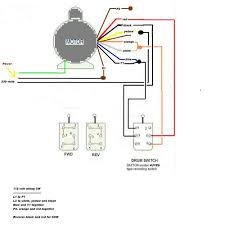 craig we r trying to wire an electric v motor for our in this second diagram the different drum switch we now have a third set of contacts that can be used