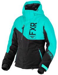 Fxr Womens Fresh Jacket At Up North Sports Mint Black
