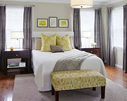 yellow and gray bedroom: saveemail bfbeae  w h b p contemporary bedroom