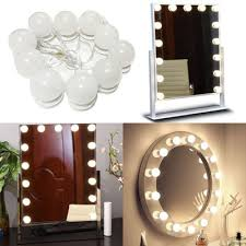 bedroom vanity mirror lights kit
