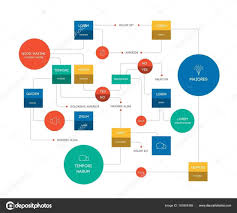 Task Flow Chart Template Venngage Cool Infographics Psd With Flowchart Style
