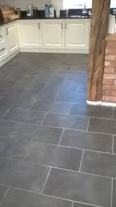 stone floor tiles kitchen. Delighful Stone Slate Tiles In Burton On Trent Before Cleaning  On Stone Floor Kitchen O
