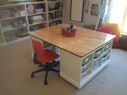 playroom furniture ikea. kidsu0027 craftboard gamelego table in the playroom sides made from ikea trofast storage units top and bottom plywood furniture