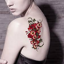 499 Tetovací Nálepky Květinová řada řada Cartoon Komiks Dámské Pánské Dospělý Dospívající Flash Tattoo Dočasné Tetování