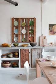 Pallet Kitchen Furniture Pallet Storage For The Kitchen O Pallet Ideas O 1001 Pallets