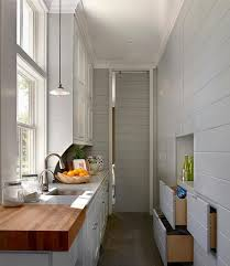 Small Long Kitchen Small Long Kitchen Ideas