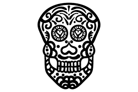 For an svg file, like this it's all about the pie design from so fontsy, each color will be imported into a cut file as a different layer. Sugar Skull Svg Cut File By Creative Fabrica Crafts Creative Fabrica