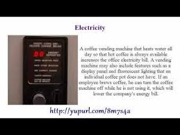 Vending Machine Business Pros And Cons Custom The Pros Cons Of Office Coffee Vending Machines YouTube