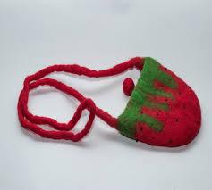 Felted Wool Designs Handmade Felt Wool Strawberry Shoulder Bag Felt Bag Buy 2017new Design Ladies Bags Hand Felted Wool Bag Nepal Felt Bag Product On Alibaba Com