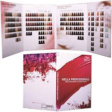 Wella Color Chart Book Easily Understand How To Create The Perfect Hair Colour For