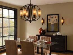 luxurious lighting. Simple Dining Room Lighting Long Wooden Table Luxurious Grey Upholstered Chair T Shaped Back