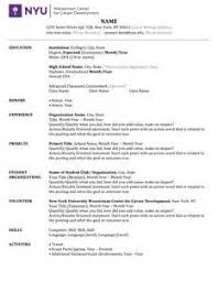 how to write a resume with little experience how to write a good resume with little experience