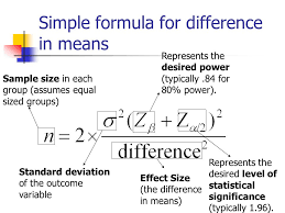 Statistical Power Formula Statistical Inference I Hypothesis Testing Sample Size