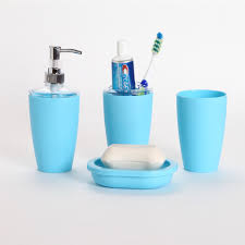 bathroom accessories set toothbrush