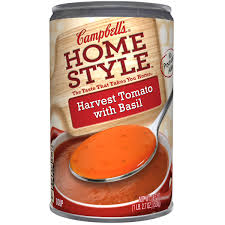 Campbells Homestyle Harvest Tomato With Basil Soup 18 7 Oz