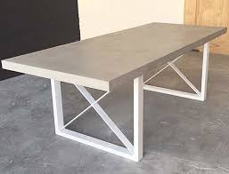 modern dining table unique room sets glass top in concrete outdoor ideas 8