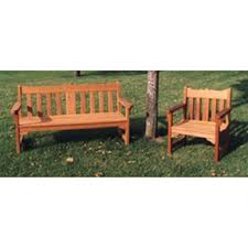 english garden bench. woodworking project paper plan to build english style garden bench and chair