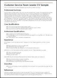 Sample Resume For Team Lead Position Lead Position Resume Sample For Team Leader Antiquechairs Co