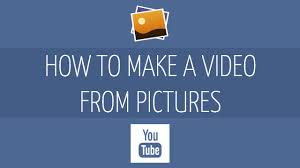 how to create a video how to make a video with pictures and music slideshow youtube