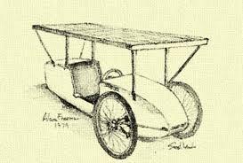 「1955 William Cobb demonstrates first solar-powered car」の画像検索結果
